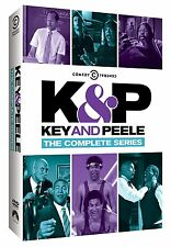 Key and Peele: Complete Series Seasons 1 2 3 4 5 Boxed DVD Set NEW!