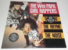 """WEE PAPA GIRL RAPPERS - THE BEAT THE RHYME THE BEAT - 1988 DOUBLE 12"""" VINYL LP"""
