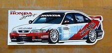 Team Honda Sport Accord Thompson / Tarquini BTCC Race Motorsport Sticker / Decal