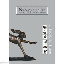 Solid Bronze Sculpture of Animals and Children by Nelson & Forbes (Brochure)