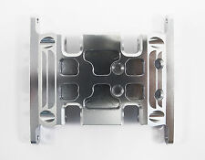 CNC Alloy Gear Box Mount/Holder Silver for Axial SCX10 1/10 RC Crawlers