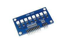 8 RGB LED Line Genuine IC Station Module 5050 WS2812 PWM Arduino Flux Workshop