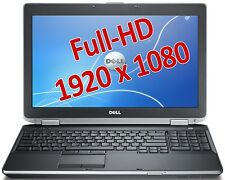 "Dell Latitude E6520 Intel Core i7 2760QM 2,4GHz 8GB 500GB 15,6"" DVD-RW WLAN Win"