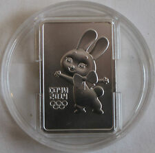 Russia / Russland, 3 rubles, 2013, Hare, Rabbit, Olympic Emblem, Sochi, Silver