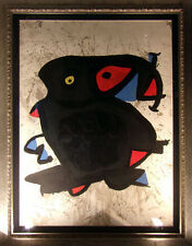 "Joan Miro""Attacm Pour Lexhibition"" Color etching and Aquatint Hand Signed"