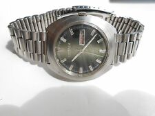 AUTHENTIC RARE VINTAGE DOUBLE SHADE DIAL CITIZEN GENTS DAY DATE AUTOMATIC WATCH