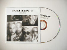 ORNETTE & OURS : AVEC NOUS ( PUT YOUR HANDS UP ) ♦ CD SINGLE PORT GRATUIT ♦