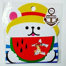 Mind Wave Kawaii Polar Bear Beach Stickers Sack sticker flakes stationery Rare
