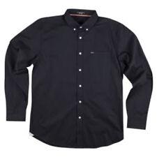 MATIX Eli Solid Woven Shirt (S) Black