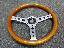 RARE MOMO SUPER INDY 310mm 1989 WOOD STEERING WHEEL BMW ALFA FIAT MINI DATSUN