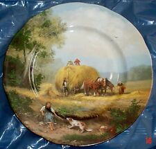 M G Fine Bone China Norwich England VILLAGE LIFE - HARVEST