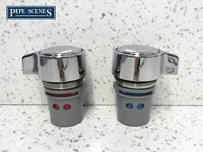 Replacement PAIR Handle & Valve for MFI / Howdens Kitchen Tap Head & Body Spare