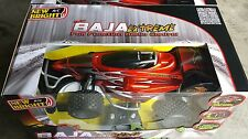New Bright Invader Remote Radio Control Buggy Car 1:8 Scale Green/Orange