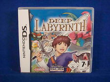 ds DEEP LABYRINTH 3D First Person RPG Adventure Lite DSi 3DS Nintendo PAL