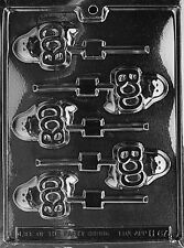 BOO GHOST LOLLY POP mold Chocolate Candy molds ghouls gobblins pumpkins ghosts