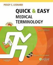 Quick & Easy Medical Terminology, 6e (Quick & Easy Medical Terminology (W/CD)),