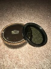 Nikon 52mm Polarizing Filter with Hard Leather Case Very Good