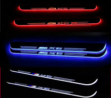 2X LED Door sill Scuff Plate threthold Trim Panel for For BMW X5 E70 2007-2012 A