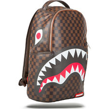 NEW w/ TAGS! Sprayground Backpack Sharks In Paris Brown/Black