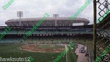 """COMISKEY PARK OLD & NEW-CHICAGO-5 1/2"""" x 10"""" glossy PHOTO baseball #Cpd58wgs"""