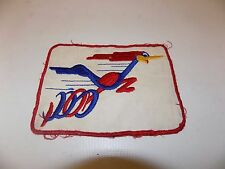 "Early Vintage 5.5"" Roadrunner Patch Badge Label Plymouth Mopar Car Advertising"