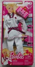 BARBIE I CAN BE MARTIAL ARTS KARATE CAREER FASHION PACK W3754 *NU*