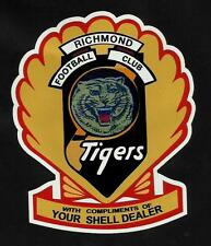 ''SHELL & THE TIGERS'' VINYL DECAL STICKER Petrol Oil SANFL AFL VFL RICHMOND