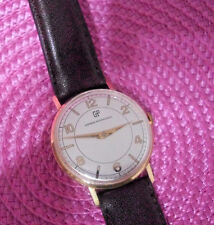 VINTAGE GIRARD PERREGAUX SOLID,   18K  GOLD 0.750 MANUAL WIND WATCH