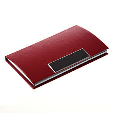 Business Card Credit Card Holder Card Case Red HP