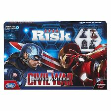 Risk: Captain America: Civil War Edition Game (B5518) 2 ways to play NEW CATO..