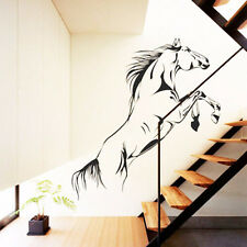 New Black Running Horse Wall Sticker Removable Vinyl Decal Art Mural Home Decor