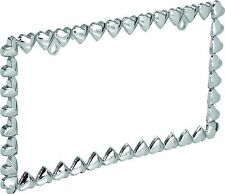Hearts License Plate Frame Chain of Hearts Metal alloy License Plate Frame