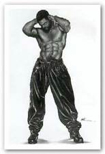 AFRICAN AMERICAN ART PRINT 2 Tight Male Kevin Williams WAK