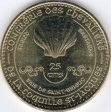 22 PLERIN COQUILLE SAINT JACQUES N°2 25 ANS MÉDAILLE MONNAIE DE PARIS 2013 JETON