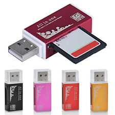 Multi Memory Card Reader Adapter USB 2.0 For Micro SD SDHC TF M2 MMC MS PRO DUO