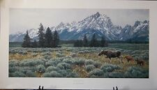 """""""SUMMER IN THE TETONS"""" by Jan Martin McGuire"""