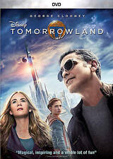 Tomorrowland (DVD DISC ONLY, 2015) NO ARTWORK