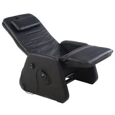Zero Gravity Electric Massage Chair Recliner PU Leather w/Controller Black New