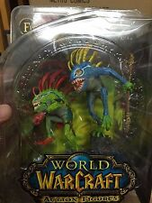 WOW WARCRAFT MURLOC : FISH EYE + GIBBERGILL / XMEN / AVENGES / NECA / RARE