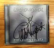 Ted Nugent - Craveman (Autographed by Ted Nugent) Original Spitfire Records CD