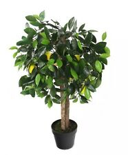 "Artificial 3ft 3"" Lemon Tree, Fake Tree, Faux Tree, Silk Tree, Citrus Tree"