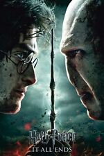 HARRY POTTER AND THE DEATHLY HALLOWS - MOVIE POSTER (HARRY Vs. VOLDEMORT)