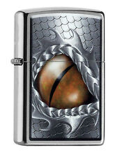 "ZIPPO ""DRAGON EYE"" STREET CHROME LIGHTER / 60001001 ** NEW in BOX ** 2016 !!"
