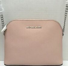 NWT MICHAEL Michael Kors Cindy Large Dome Crossbody Messenger ballet
