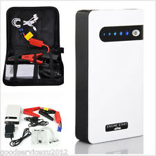 Portable 10000mA Car Jump Starter/Battery Charger/Power Bank LED Emergency Light