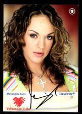 Mariangela Scelsi Verbotene Liebe Autogrammkarte Original Signiert # BC 62620