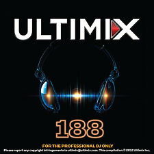 Ultimix 188 CD Ultimix Records Rihanna Pitbull Phillip Phillips Ellie Goulding