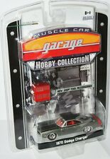 Greenlight MCG/Hobby Coll. 1970 DODGE CHARGER - grey metallic - 1:64