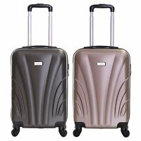 Ryanair 55 cm Hard Cabin Approved Spinner Trolley Hand Luggage Suitcase Case Bag