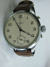 Monard vintage Swiss quarter repeater pocket watch, converted to wrist watch.